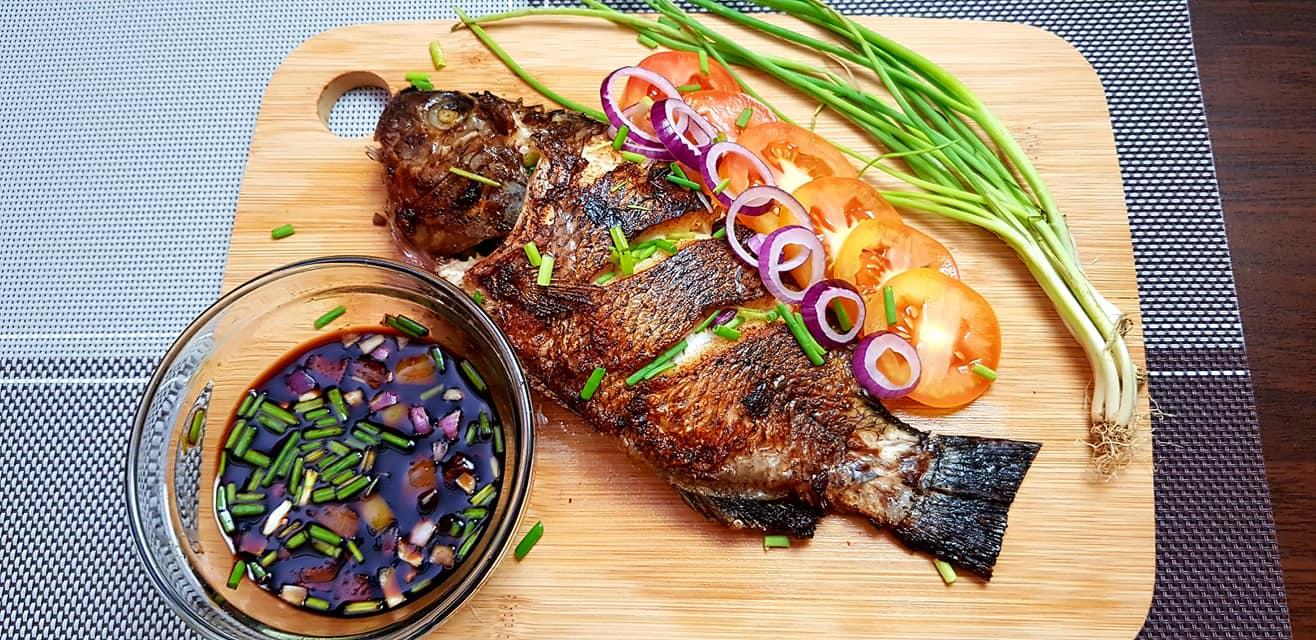 Stuffed Fried Tilapia – Pinoy Recipes