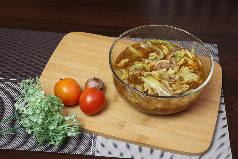 Sauteed Sardines with Cabbage- Quick Recipe