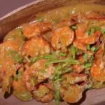 Cheesy Garlic Shrimp