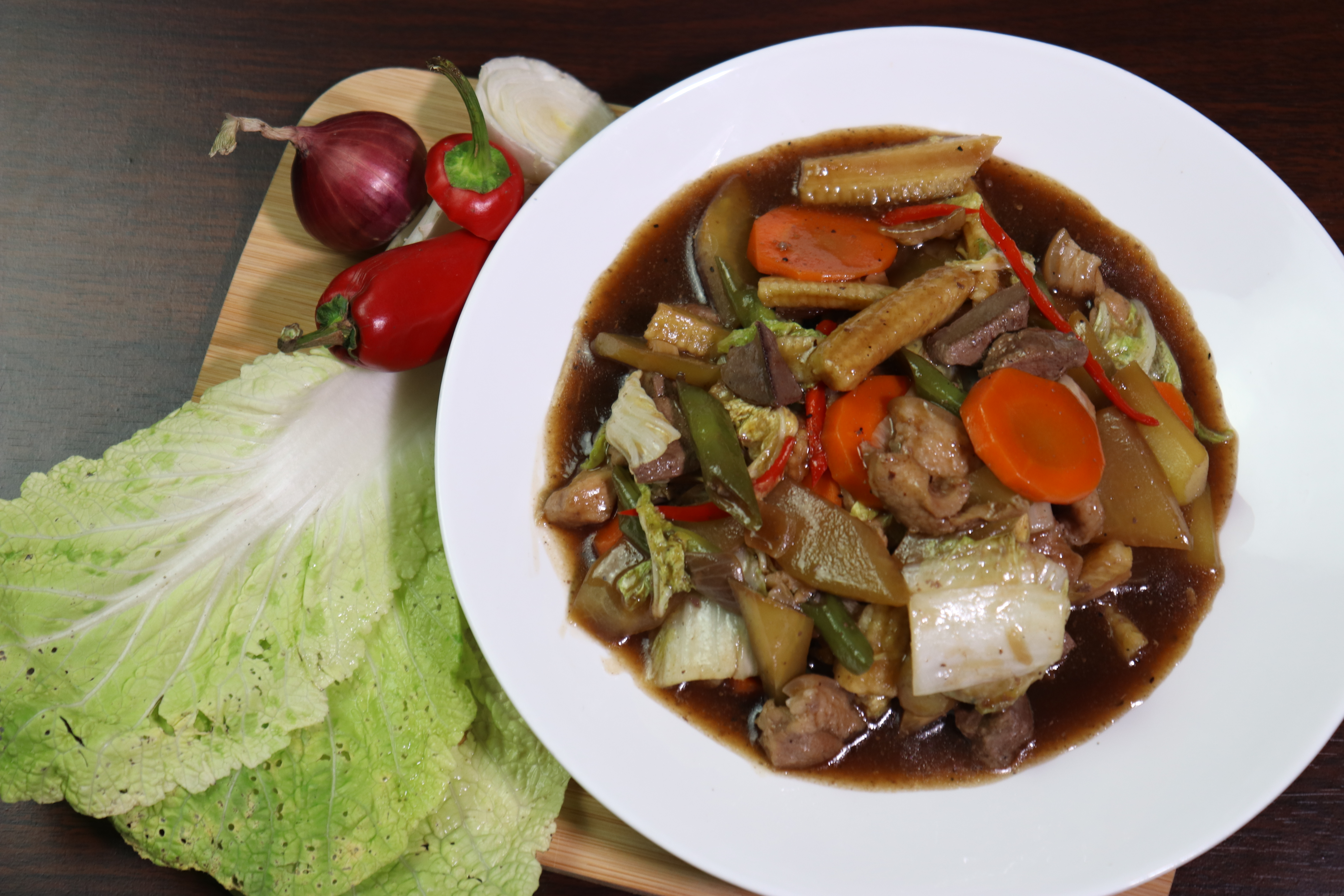 Chopsuey with Oyster Sauce (MASARAP) Pinoy Recipe