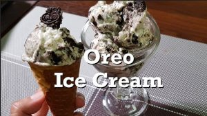 how to make orea icecream at home