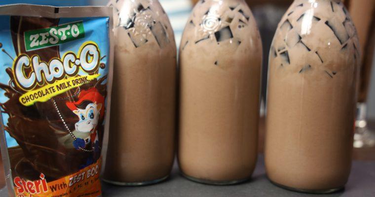 Choco Jelly ( Chocolate Jelly Drink ) Masarap