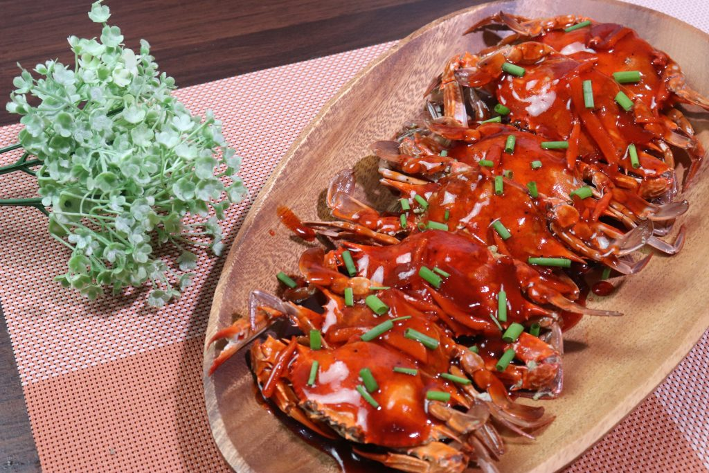 how to cook crabs with ketsup