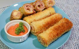 How to Make Ham and Cheese Roll - Pinoy Merienda