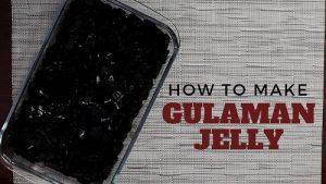 gulaman jellly