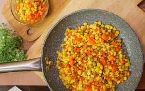buttered mix vegetables