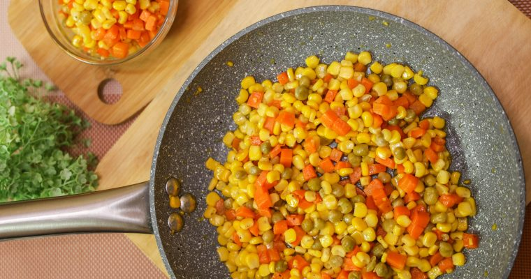 Buttered Mix Vegetables – Easy Made Recipe (Mixed Vegetables)