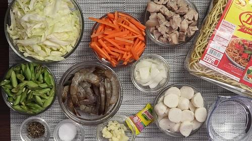 Pansit Canton Recipe