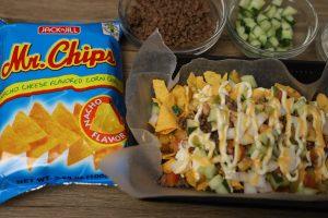 Beef Nachos Mr chips