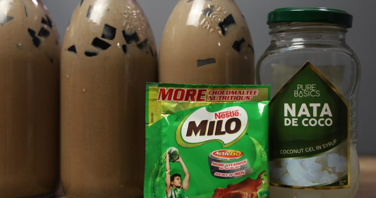 How to Make Chocolate Jelly – Milo Jelly Drink