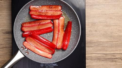 Hotdog Sandwich with Cheese ( Hot dog Recipes ) - Merienda Time