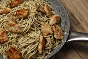 Chicken Pesto Pasta Recipe