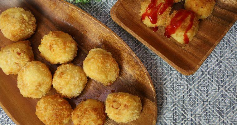 Cheesy Potato Balls – Easy Food Recipes (Fried Potatoes)