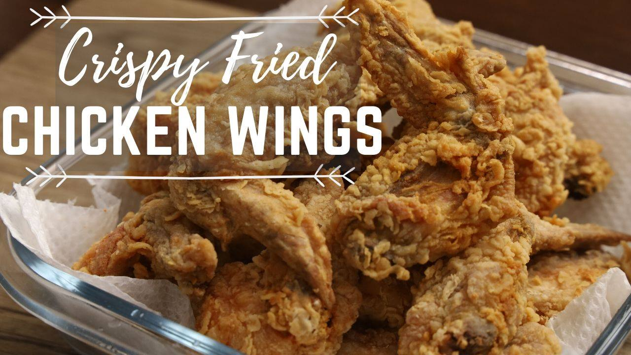 How To Cook Crispy Fried Chicken Wings ( Pinoy Recipes )