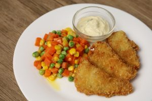 crispy fish fillet