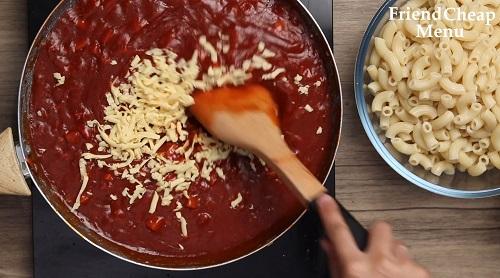 Corned beef macaroni