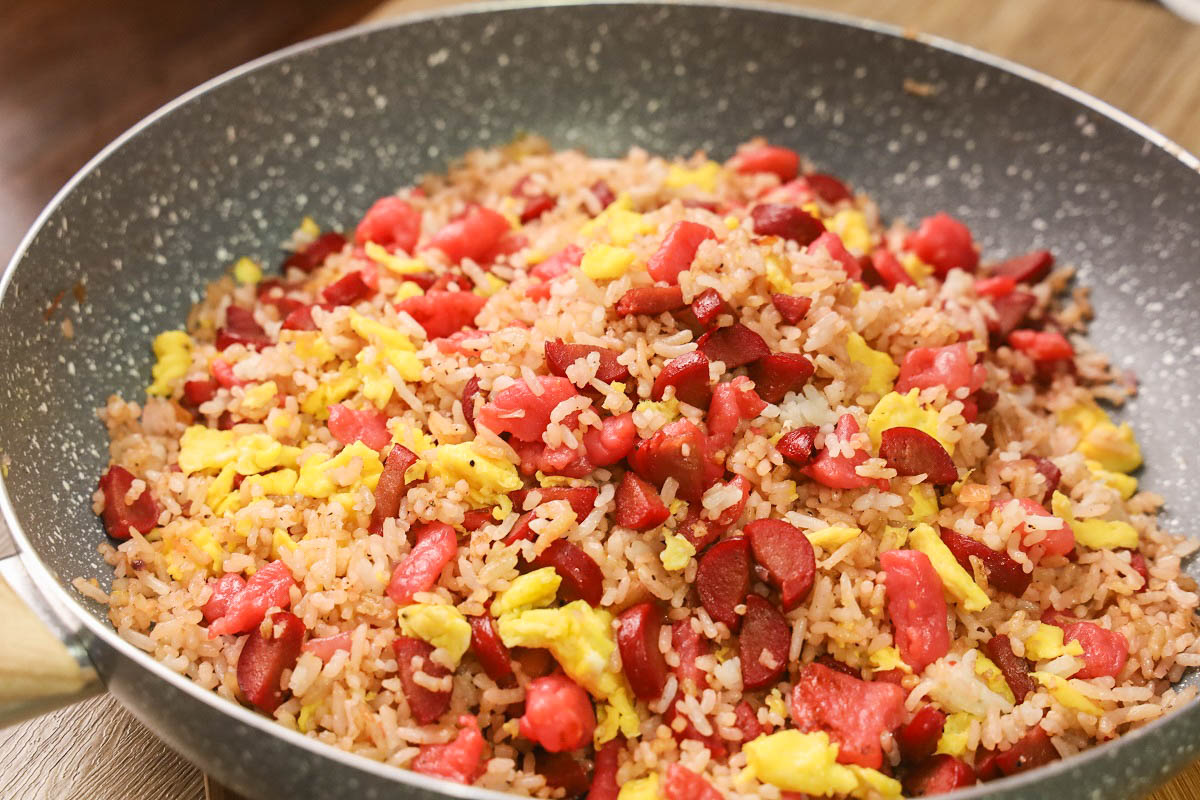 Pork Tocino Fried Rice ( Fried Rice Recipes ) – Pinoy Recipes