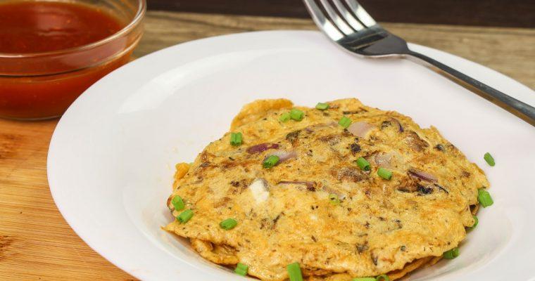 Sardines Omelette – Sardines Recipes ( Omelet Recipes ) – Pinoy Recipes