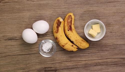 Banana Pancake no flour