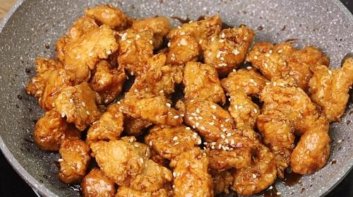 Sweet Soy Chicken Popcorn