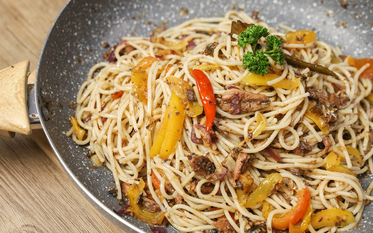 Easy Spanish Sardines Pasta Recipe