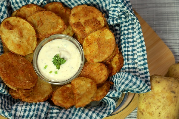 Home Made Potato Mojos (Easy Recipes for Snacks)