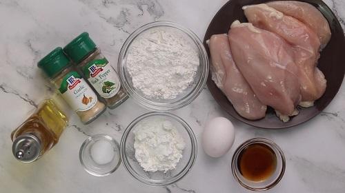 Crispy Chicken Fillet