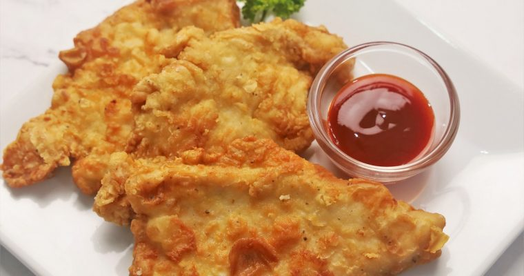 How to Cook Crispy Chicken Breast Fillet Recipe