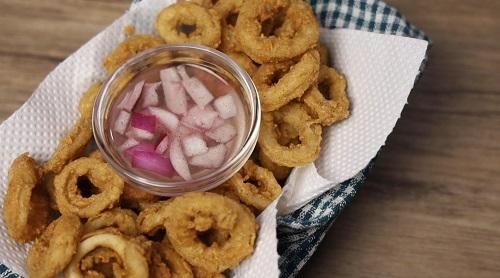 Crispy Fried Calamares