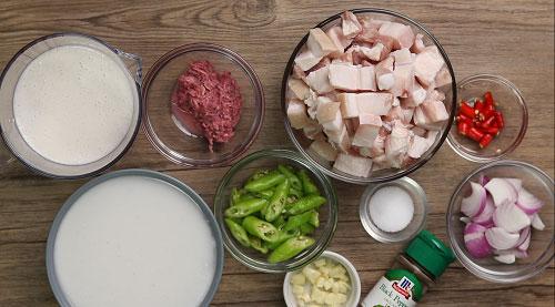 pork bicol express ingredients