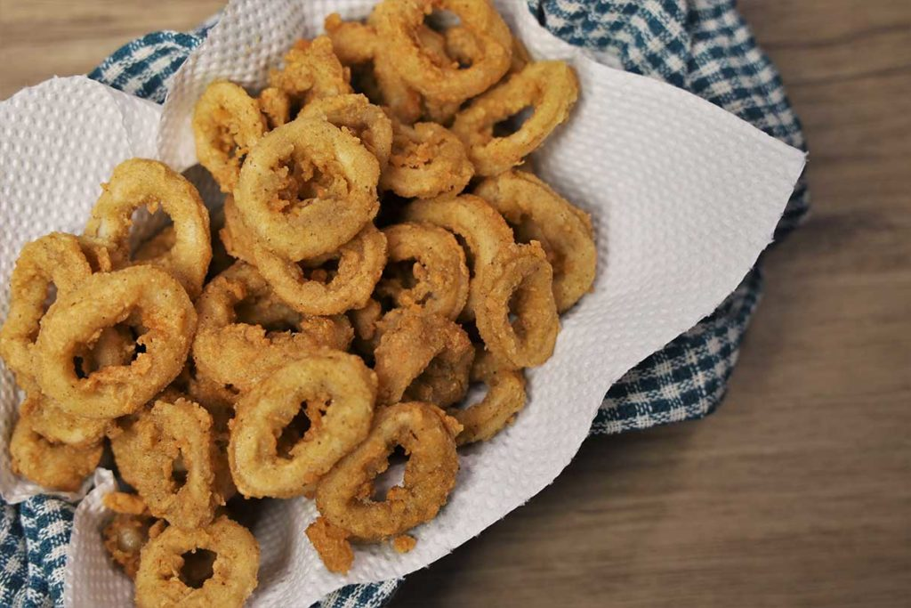 How to cook calamaries using crispy fry