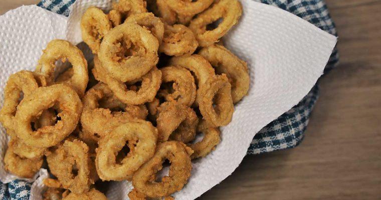 How To Cook Crispy Fried Calamares