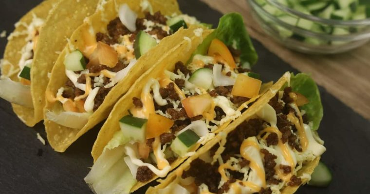 How to Make BEEF TACOS (at Home)