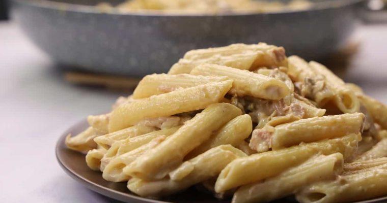 Creamy Tuna Penne Pasta Recipe