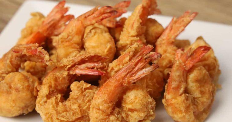 EASY POPCORN SHRIMP RECIPE ( Shrimp Poppers )
