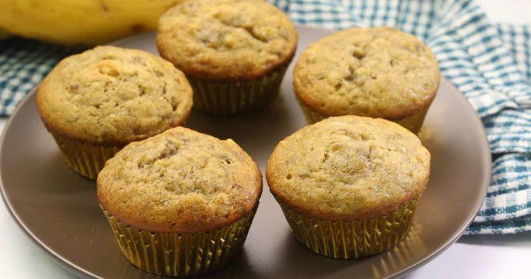 How To Make Banana Muffins (Plain) – Recipe