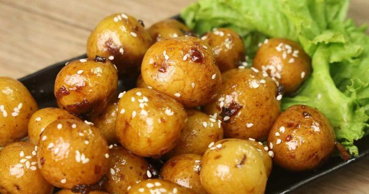Potato Marble Recipe –  Korean Side Dish