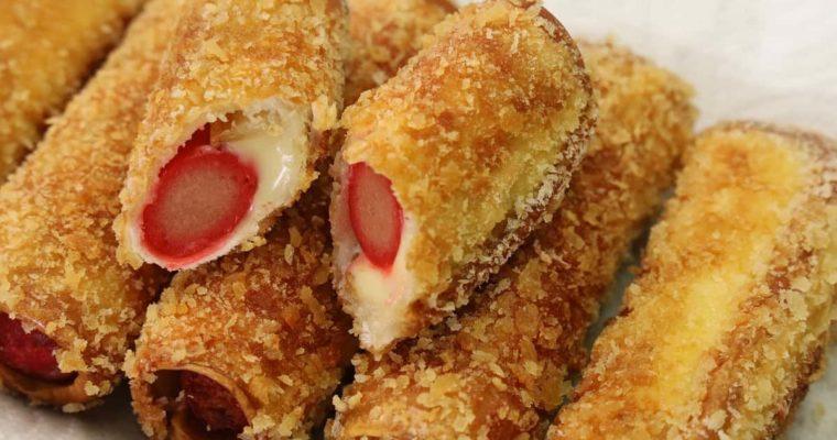 Meryendang Pinoy Recipe -Hotdog Roll with Cheese