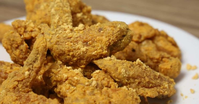 How To Cook Salted Egg Chicken Wings ( Easy And Quick Recipe )
