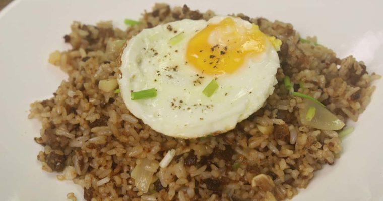 Sisig Fried Rice / Homemade Sisig Rice