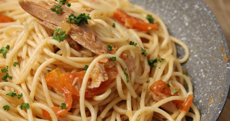 Spicy Tuna Pasta (Century Tuna)