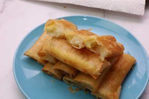 tikoy turon with cheese