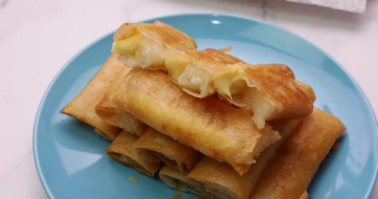 Tikoy Turon with Cheese Recipe ( Merienda Menu )