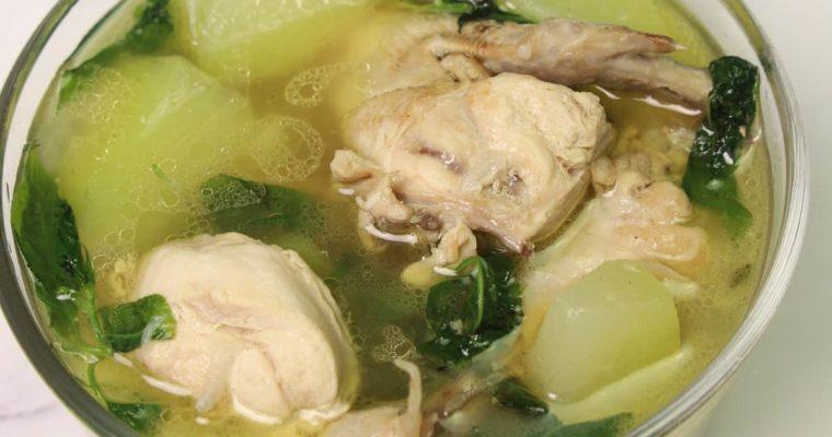 Tinolang Manok (Chicken Tinola) Recipe